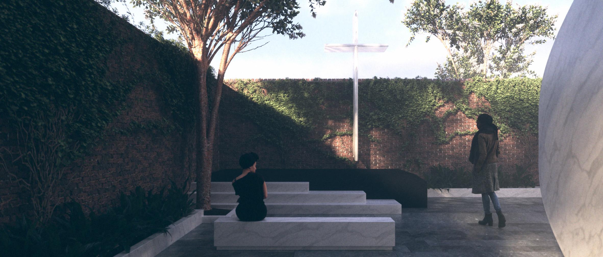 The Emanuel Nine Memorial by Michael Arad