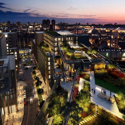 AHMM and Bennetts Associates design Facebook's London headquarters