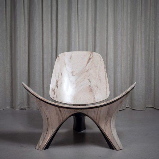 Zaha Hadid Architects reinterprets classic Hans J Wegner chair