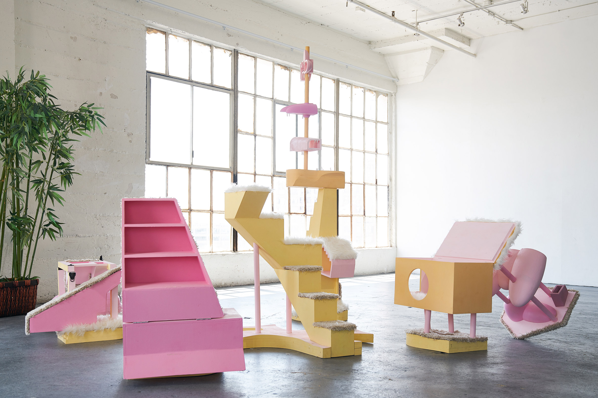 Architectural Voltron: Cats and Socks by Bureau Spectacular for P.O.D.System Architecture