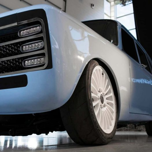 "Kalashnikov unveils prototype electric car to ""keep up"" with Tesla"
