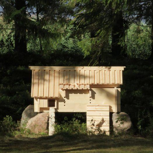 Kana Talo chicken house by Chan Brisco