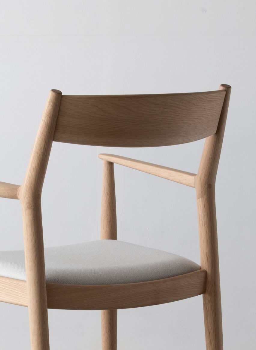 Japanese Chair Norm Architects Blends Japanese And Danish Styles In Karimoku
