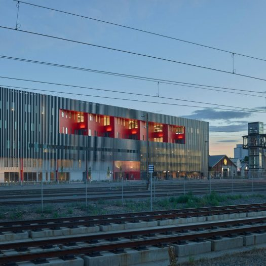 Zeppelin Station by Dynia Architects