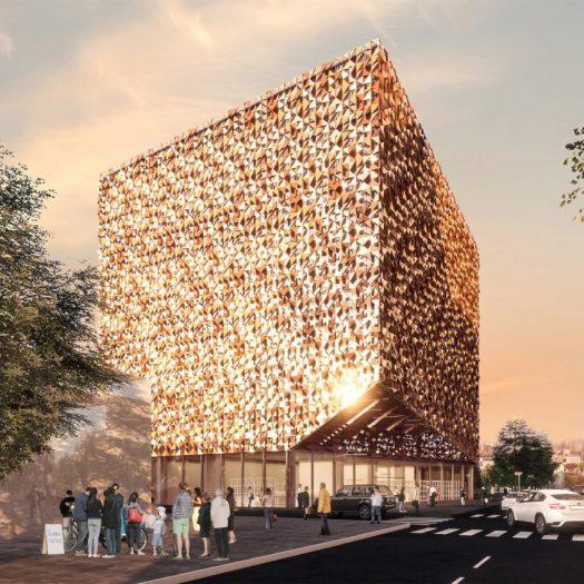 Blloku Cube byStefano Boeri Architetti