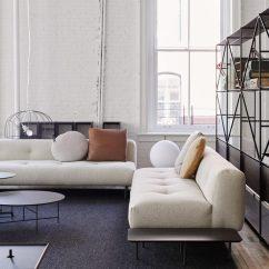 Sectional Sofas Nyc Showroom Fabric Contemporary Depadova Opens Spacious Furniture In New York S Soho De Padova