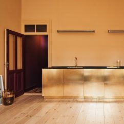 Photos Of Kitchens Kitchen Safe Shoes Architecture And Design Dezeen Reform Hacks Ikea Cabinets To Create Gold Hued For Designer Stine Goya