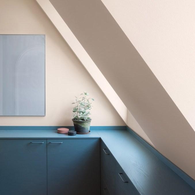 Dezeen roundups: Colour block kitchens