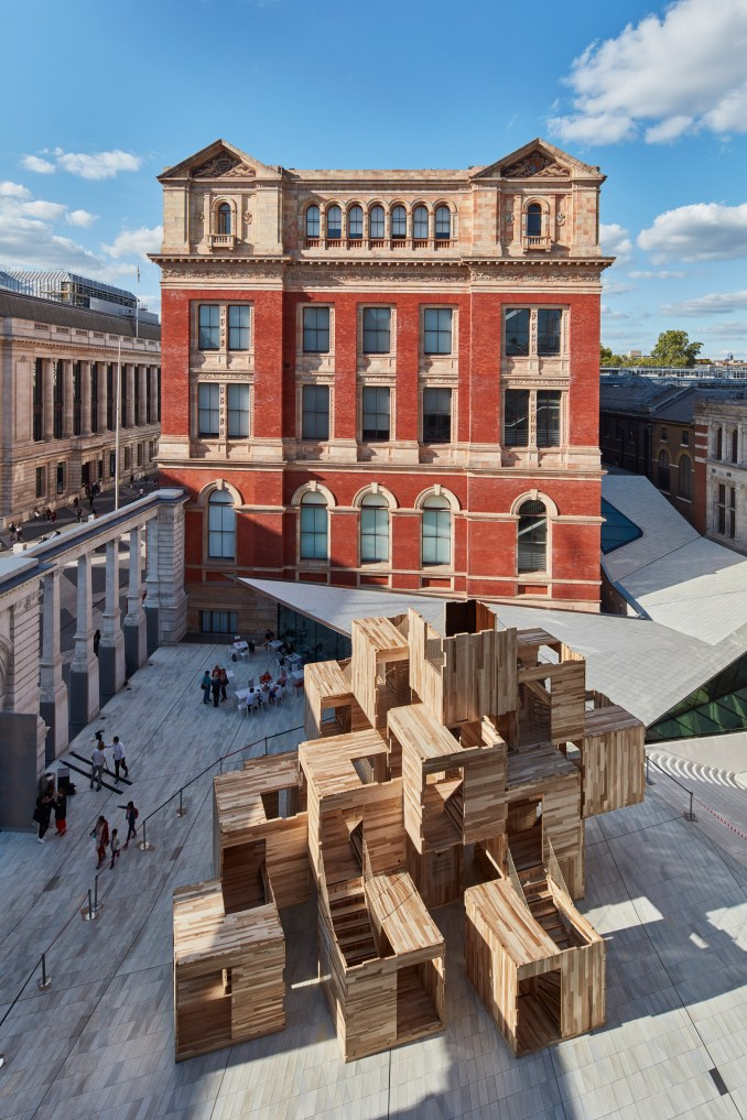 MultiPly for LDF by Waugh Thistleton Architects