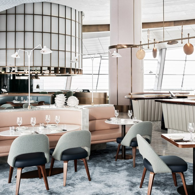 Alexander & Co create an ocean-themed rooftop restaurant in Dubai