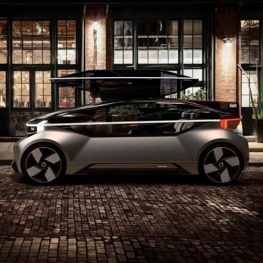 Volvo's 360c concept condenses the home into the car