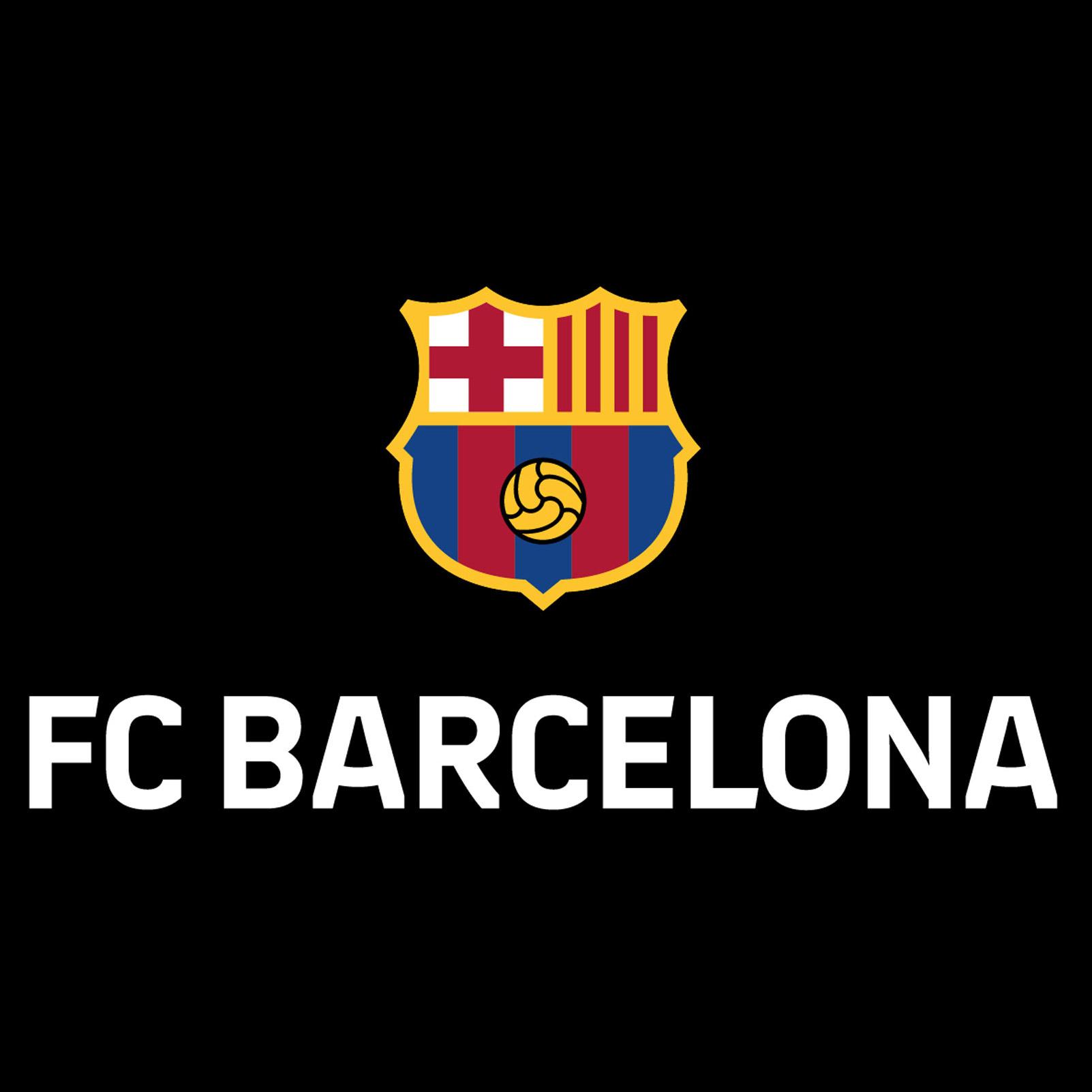 barcelona simplifies crest to