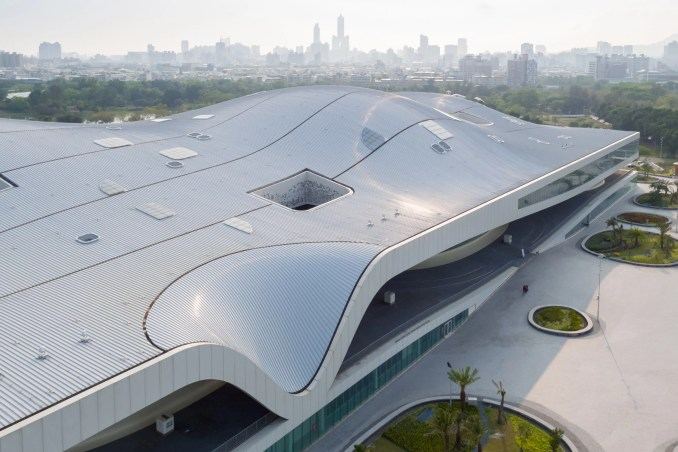 National Kaohsiung Centre for the Arts by Mecanoo
