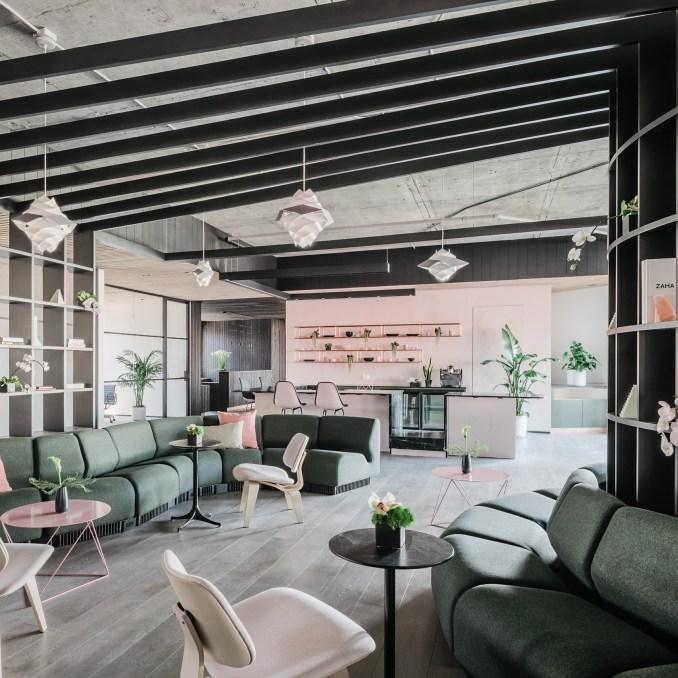 Top 10 office interiors: Canopy, US, by Yves Behar, Amir Mortazavi and Steve Mohebi