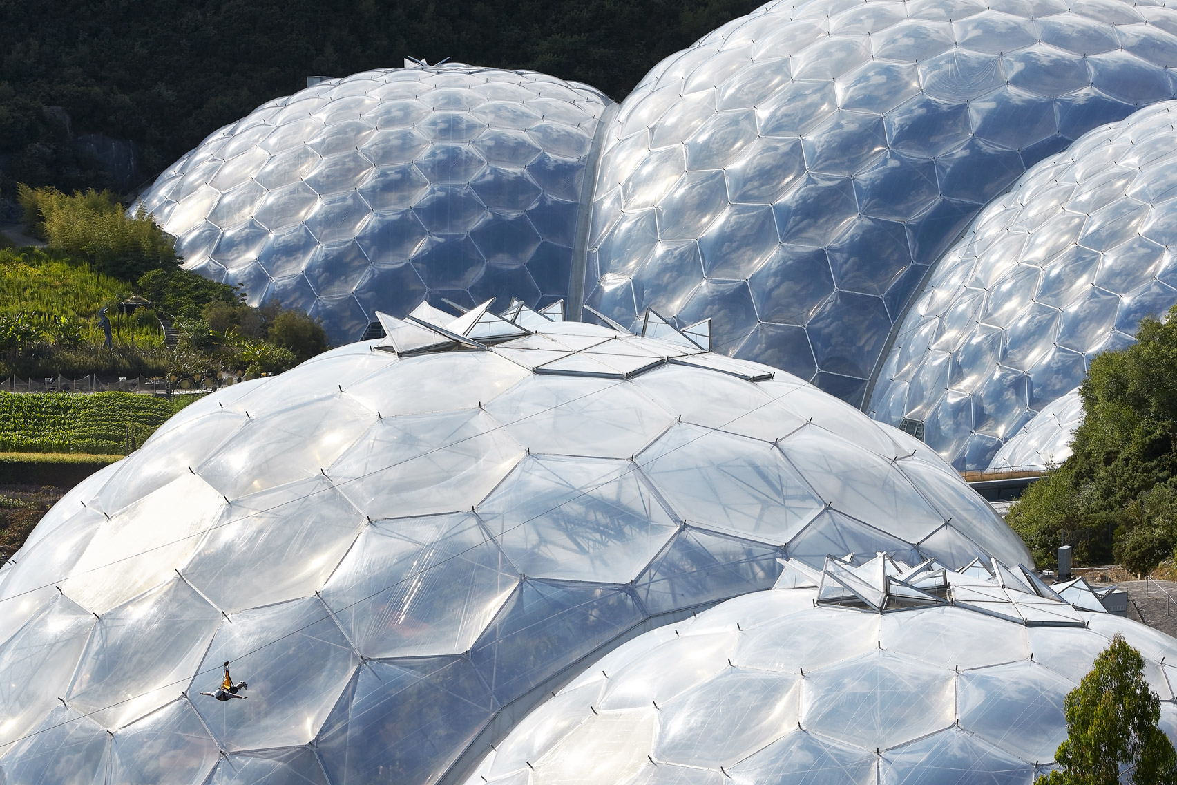 Eden Project Cornwall by Grimshaw Architects