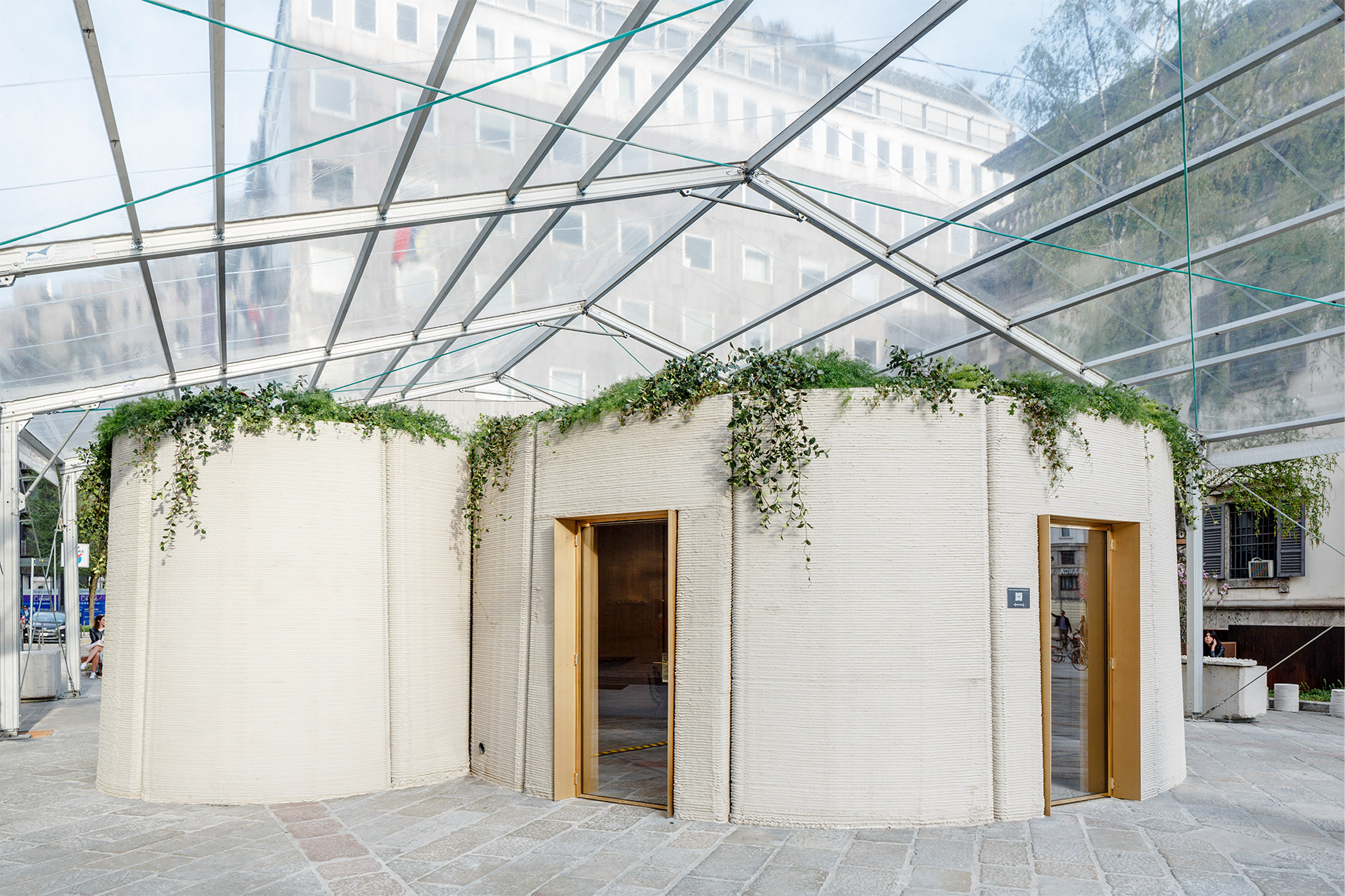 Arup and CLS Architetti's 3D-printed house was built in a week