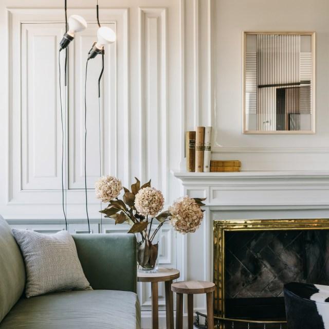 Dezeen's top 10 home interiors of 2018: Sant Gervasi apartment
