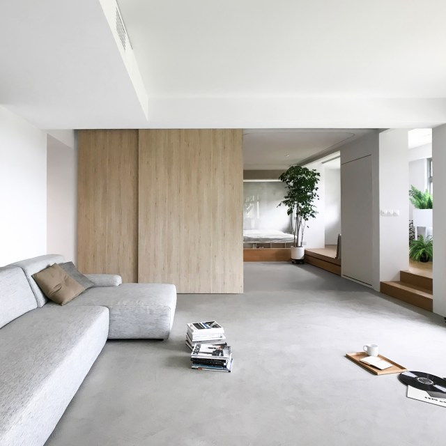 Dezeen's top 10 home interiors of 2018: House in a Flat