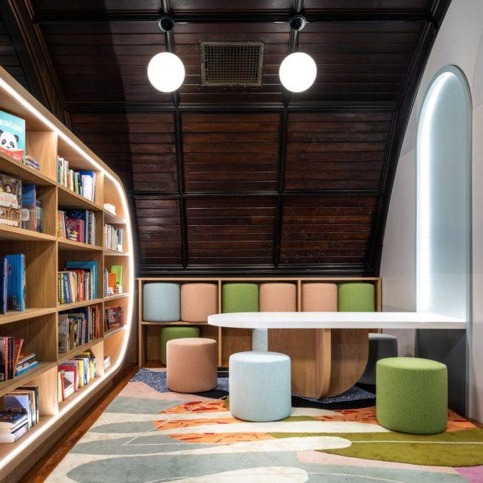 MKCA Designs Children's Library For Transitional Shelter