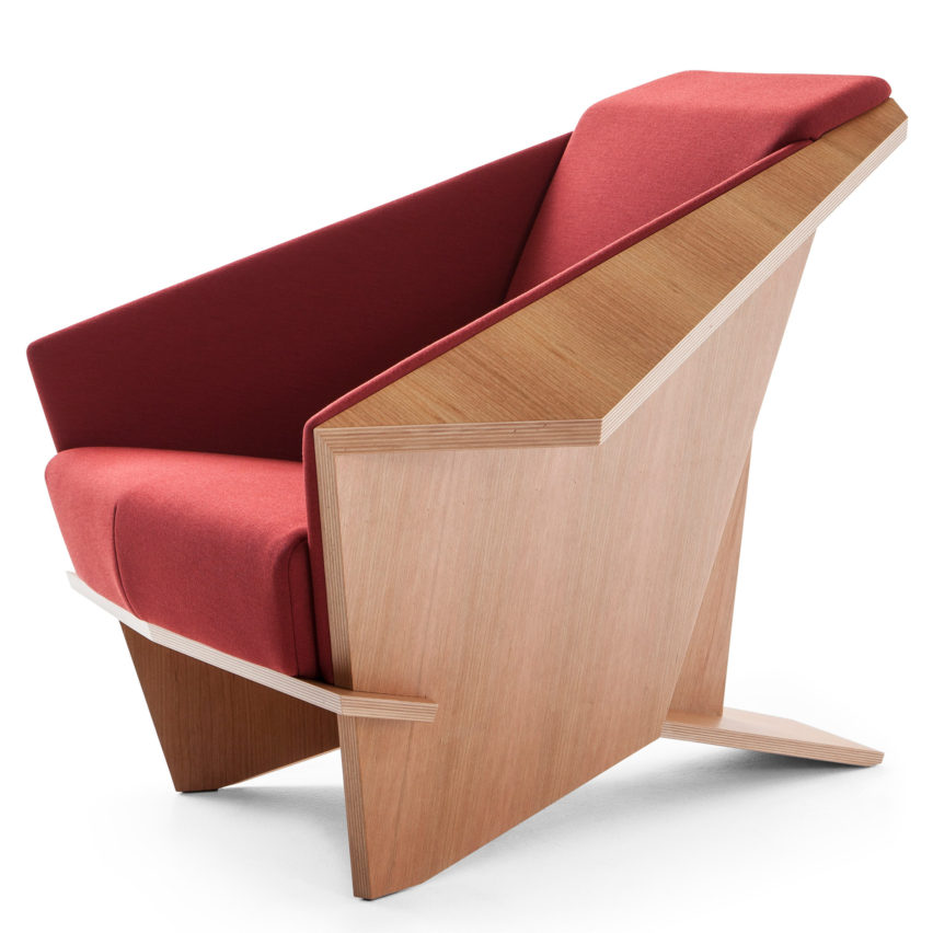 frank lloyd wright chairs butterfly chair leather cassina reissues s taliesin 1 by reissued