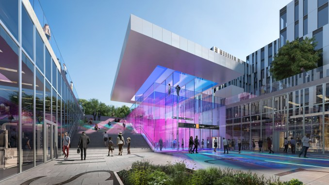 Zaha Hadid Archtiects and A_Lab to design stations for Oslo metro line
