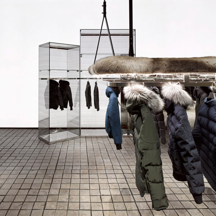 Burdifilek Evokes Canadian Winters At Toronto Outerwear Store Moose Knuckles