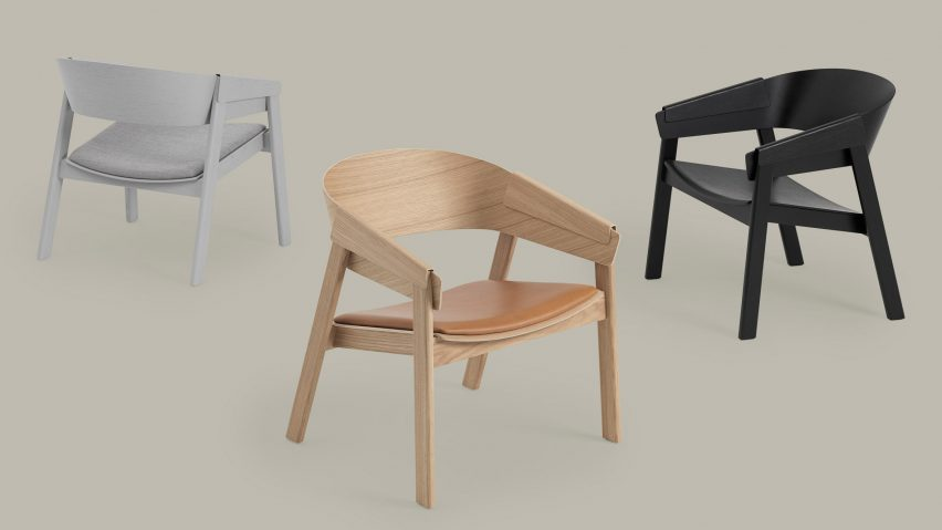 Thomas Bentzens Cover Lounge Chair for Muuto channels