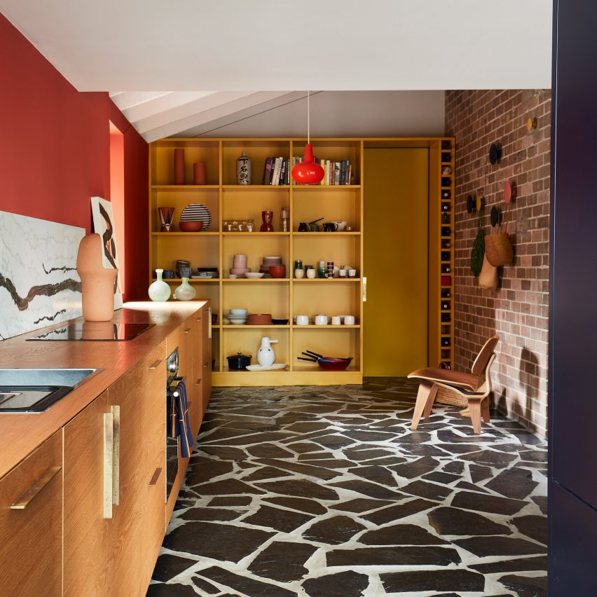 Sydney's Polychrome House Has Pops Of Colour In Every Room