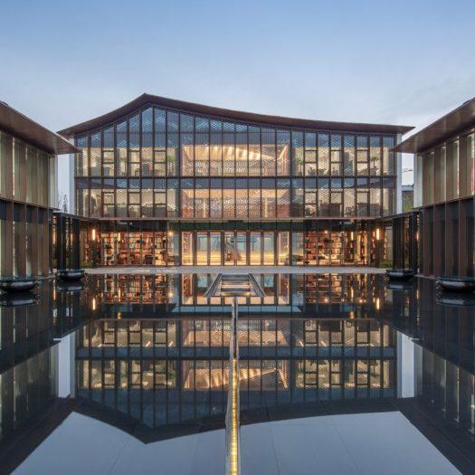 Shimao Longyin Leisure Center by Lacime Architects