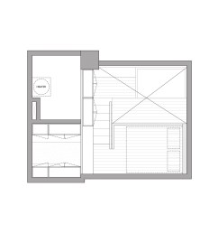 floor plan tiny apartment by a little design [ 1704 x 1705 Pixel ]
