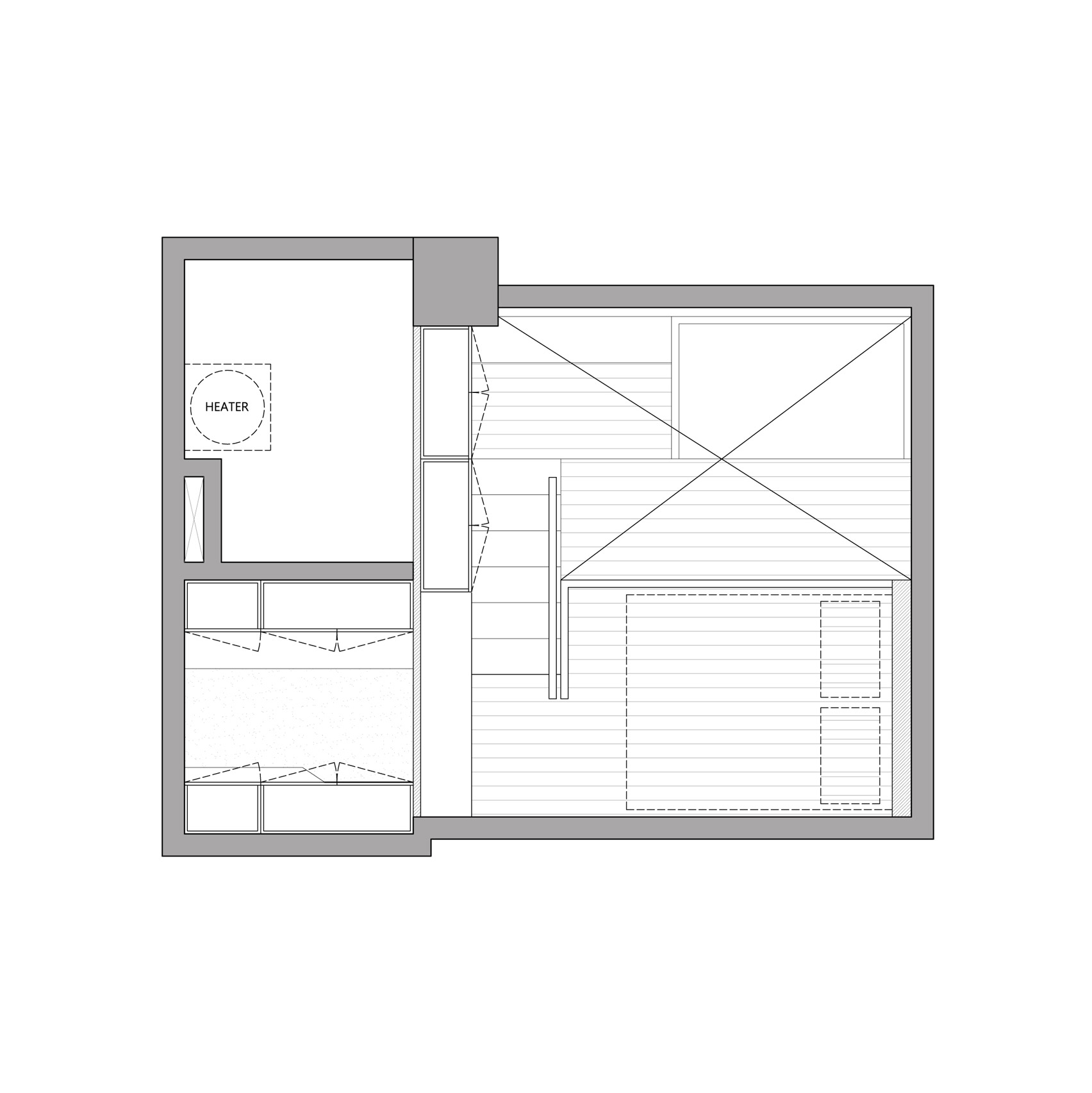 hight resolution of floor plan tiny apartment by a little design