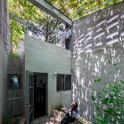 Breathing House by VTN Architects in Vietnam
