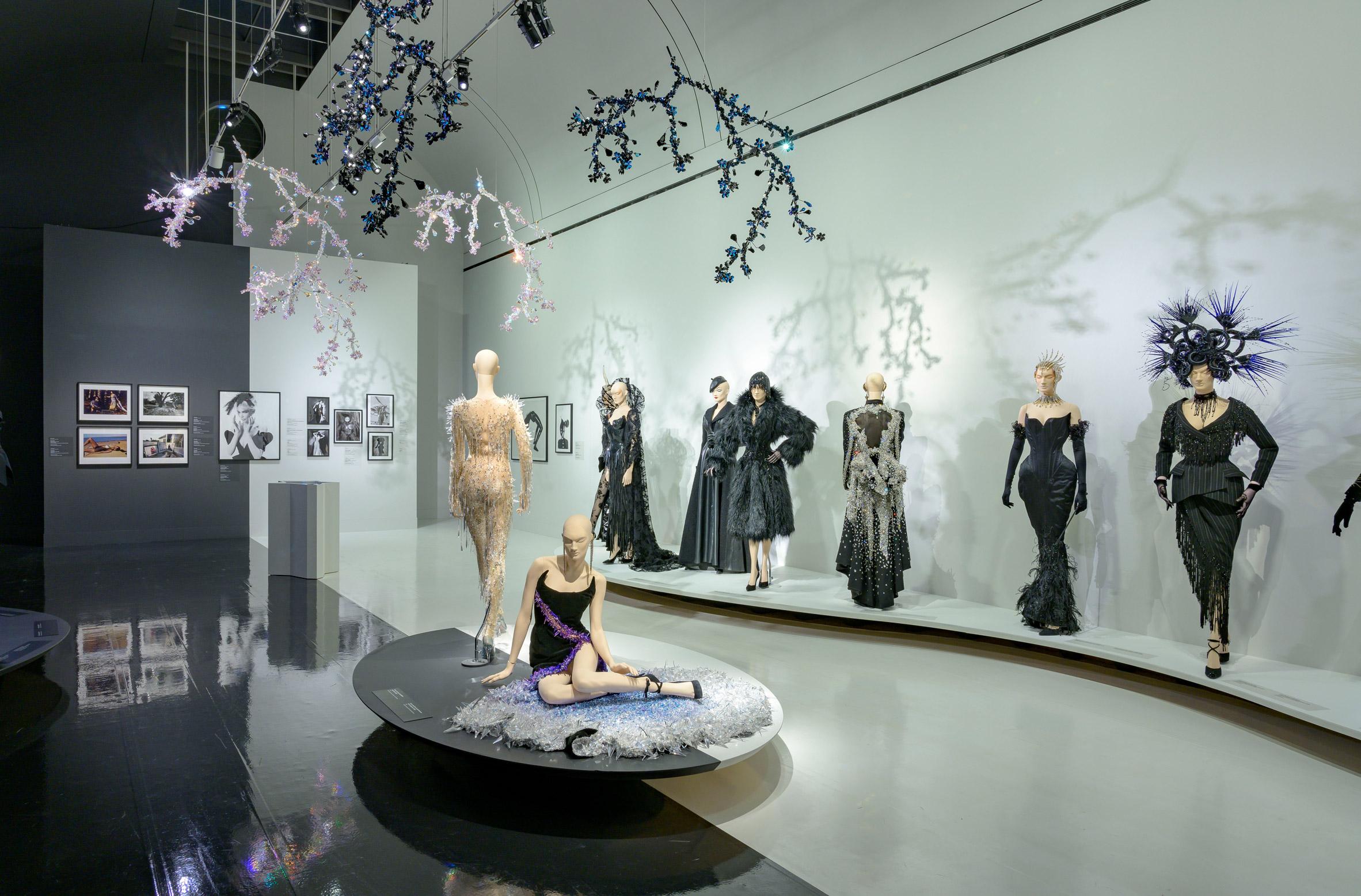 Couturissme exhibit by Thierry Mugler