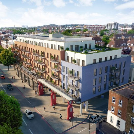 Lyons Place in London by Farrells for Almacantar designed for drone deliveries operated by Skyports