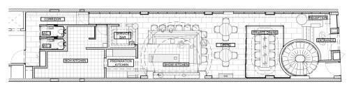 small resolution of esora restaurant designed by takenouchi webb