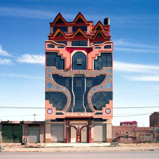 Freddy Mamani's New Andean Architecture in El Alto, Bolivia