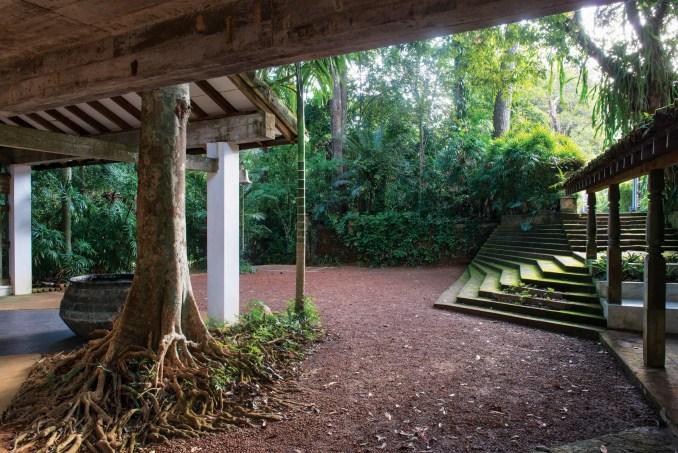 Geoffrey Bawa staircases: Lunuganga, Bentota, 1948-98