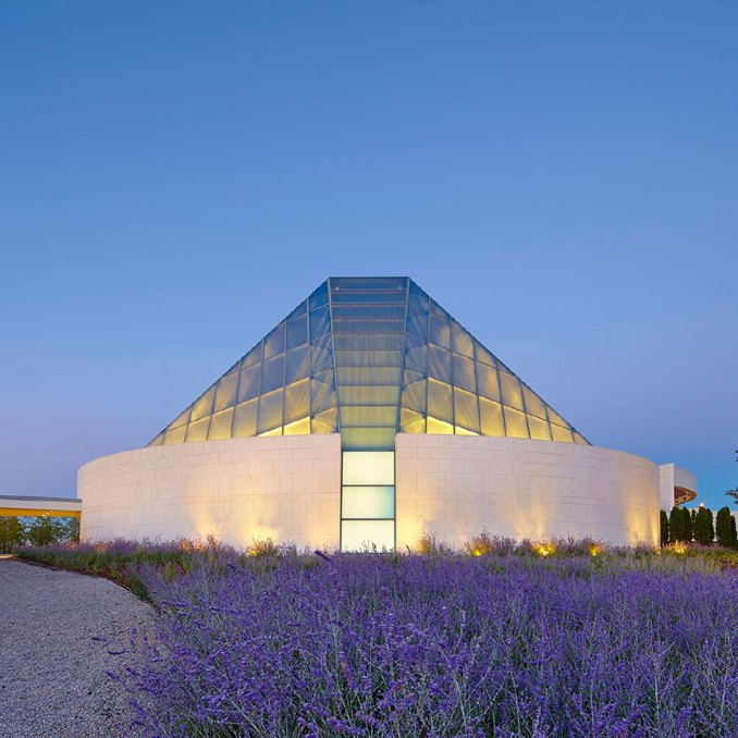 Ismaili Centre by Charles Correa
