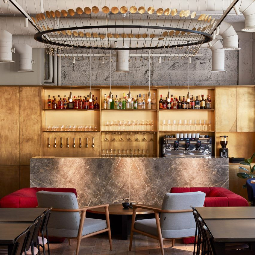 Studioshaw Creates Cocktail Bar-feel For London Co-working Space Kindred