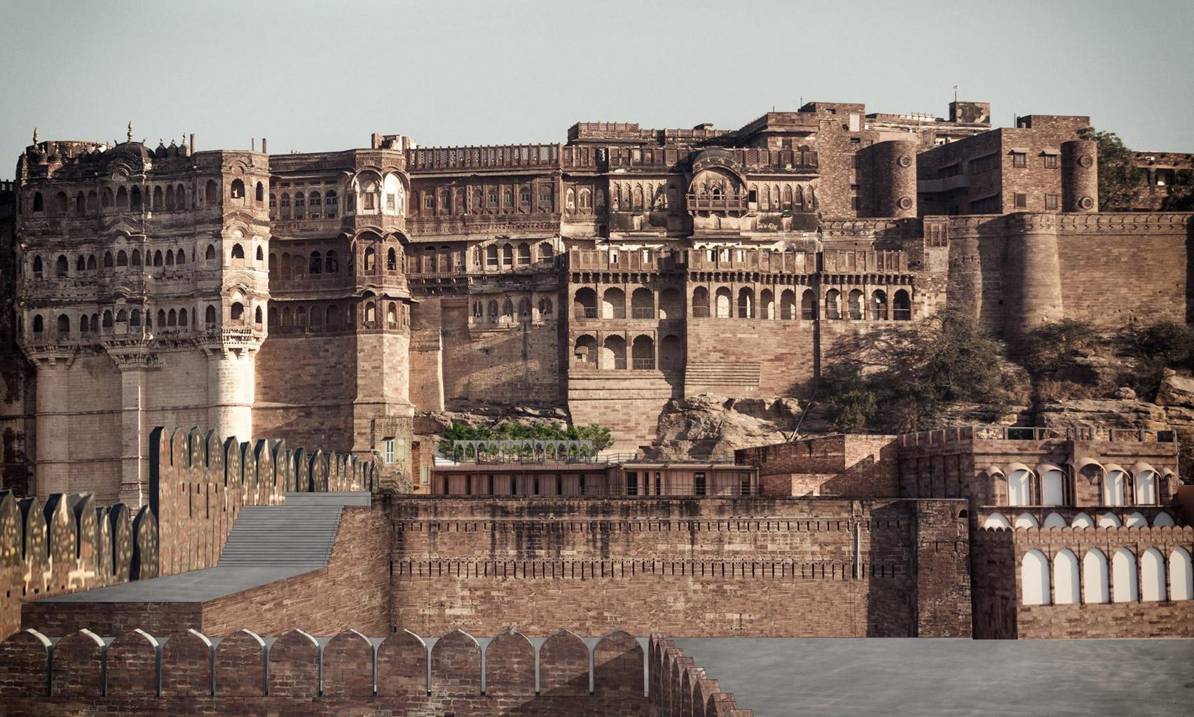 Mehrangarh Fort visitor centre by Studio Lotus
