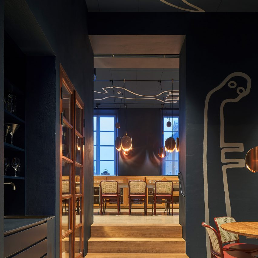 Portal Bar In Stockholm Designed To