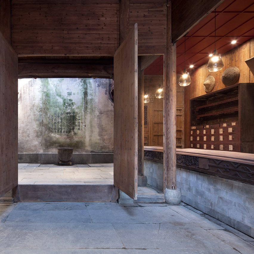 Wuyuan Skywells Hotel Occupies A-year-old Building In Rural China