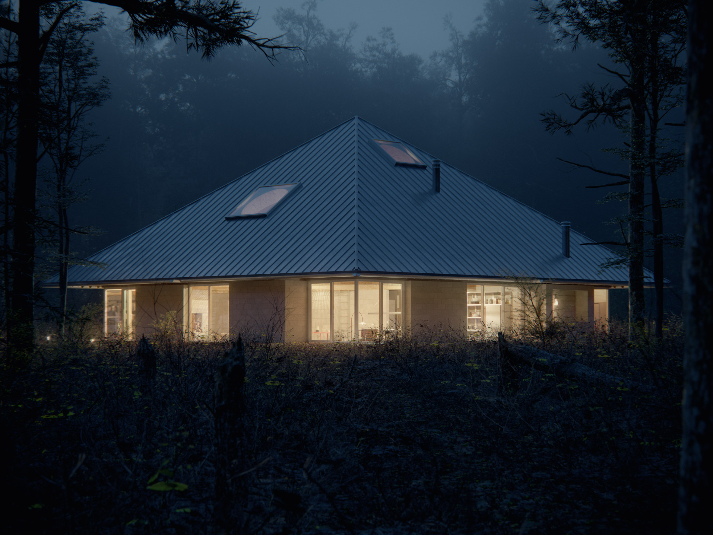 House of the Woodland by WOJR