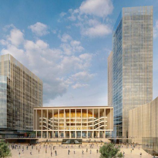 International Congress Centre Jerusalem ICC by Studio Fuksas for Israel