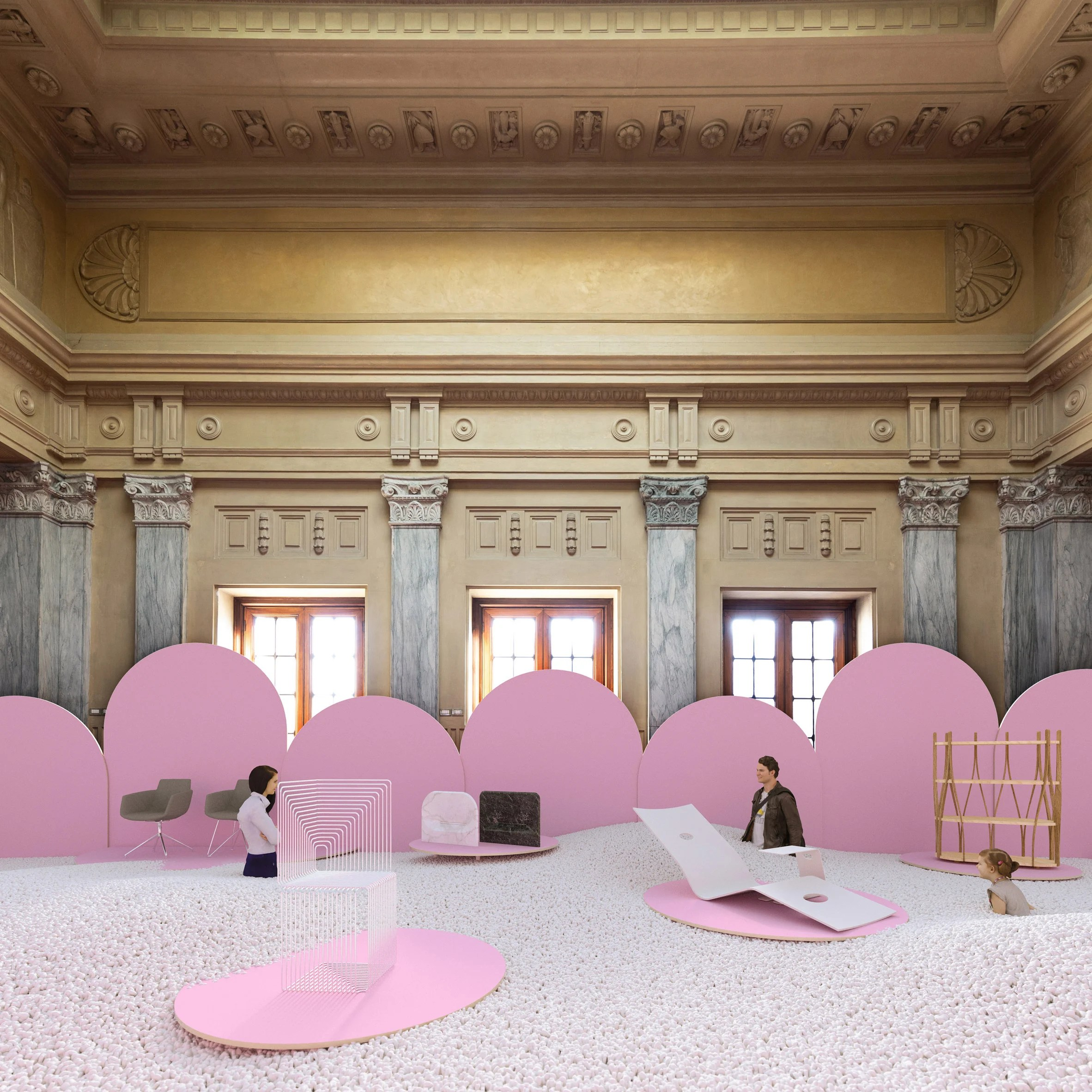 Milan design week guide: Pleasure & Treasure by Advantage Austria