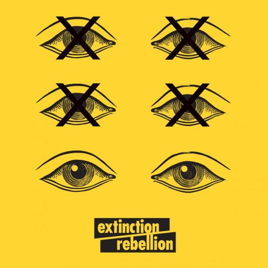 Extinction Rebellion uses graphic design to protest climate change