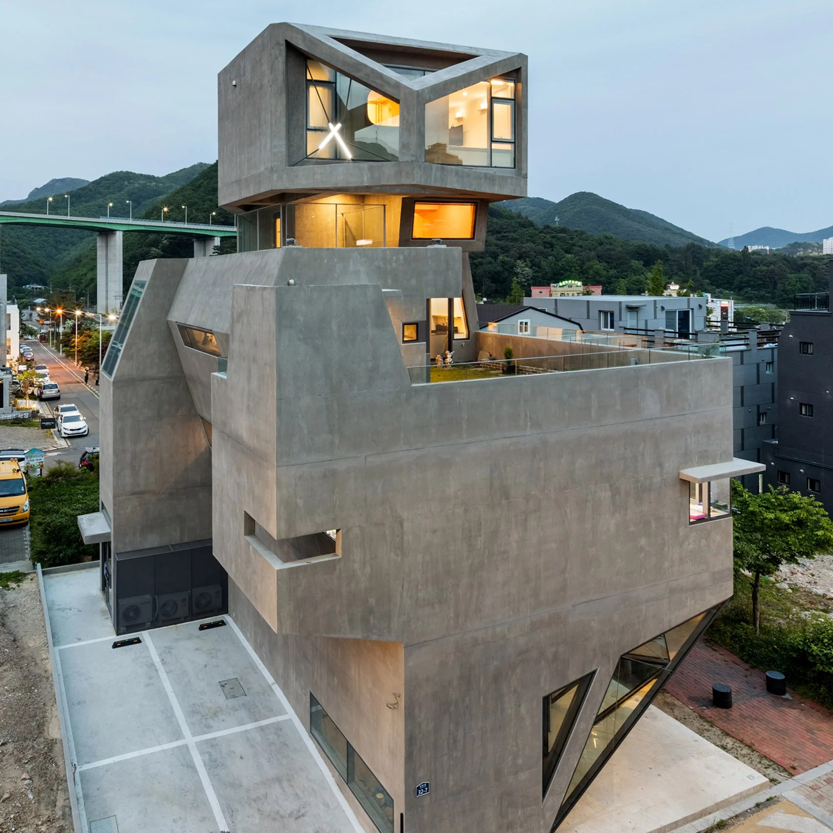 Busan Times building by Moon Hoon