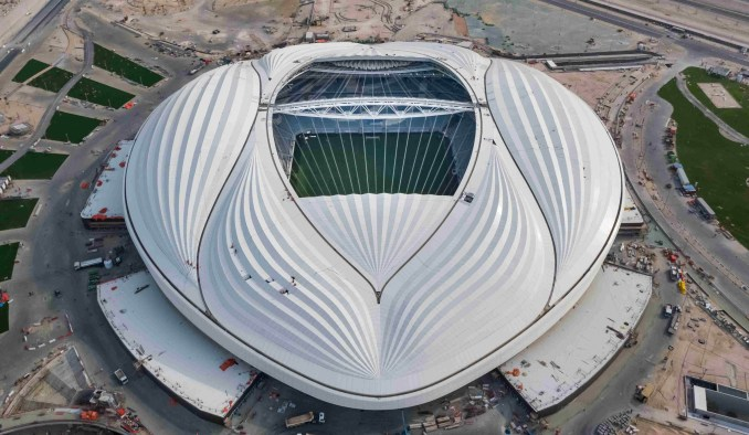 Zaha Hadid Architects' Al Wakrah stadium for the Qatar World Cup 2022 opens