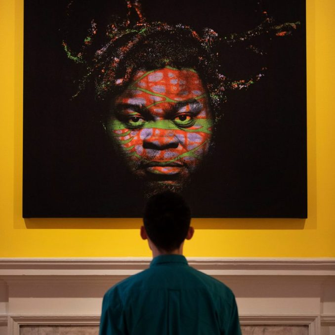 Yinka Ilori Stand Up Get Up Now exhibition Somerset House