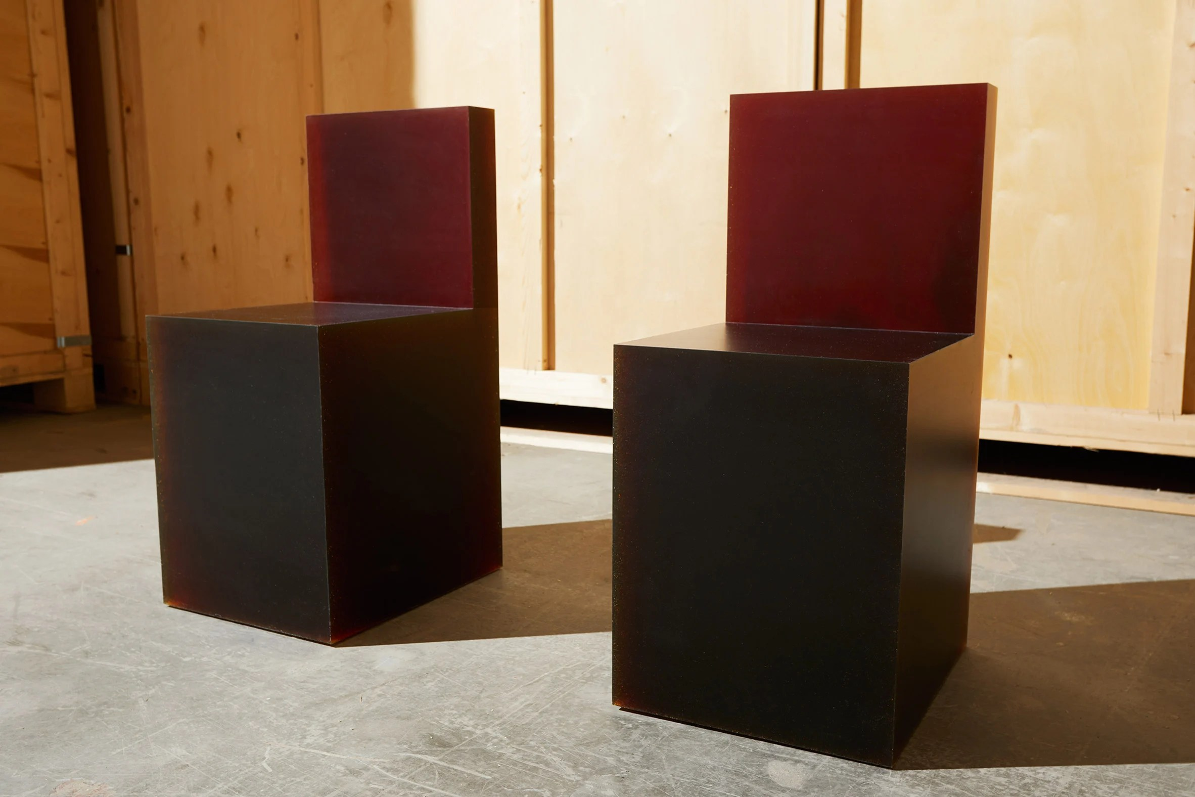 Philippe Malouin office furniture at Design Miami Basel